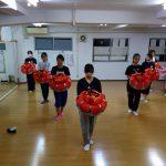 琉舞練習花笠