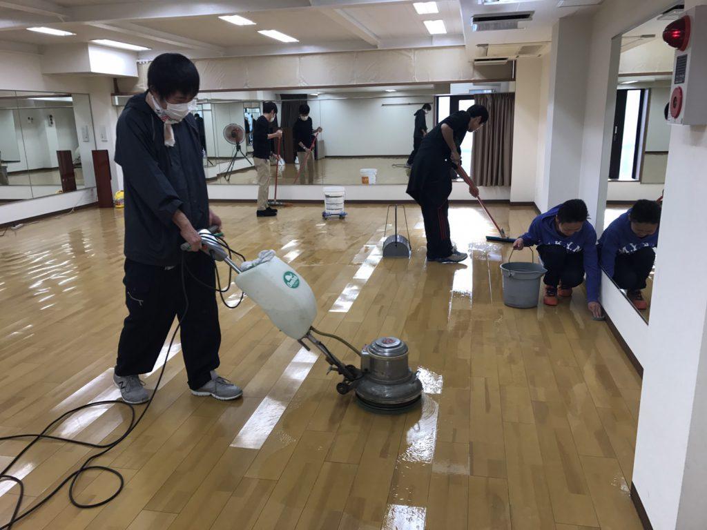 MO-LE STUDIO大掃除