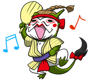 琉球舞団昇龍祭太鼓ゆるキャラ_京太郎