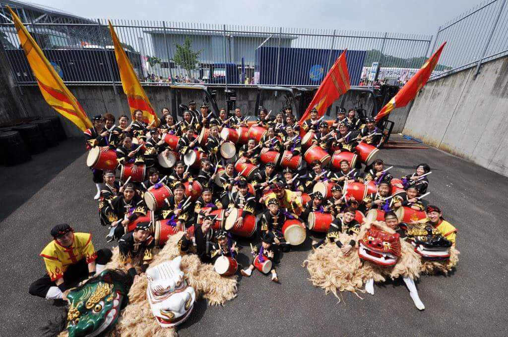桃神祭2015 昇龍祭太鼓