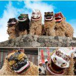 昇龍祭太鼓 琉球 獅子舞
