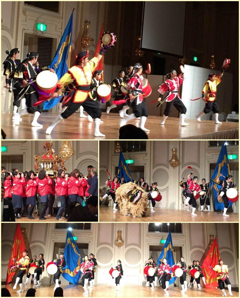 昇龍祭太鼓 エイサー&神輿 コラボ