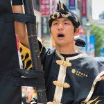 昇龍祭太鼓 名鏡 旗持ち