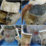 獅子顔上部合体