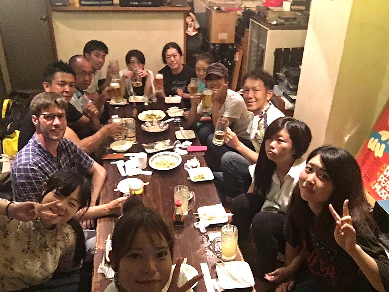 沖縄最後の飲み♪