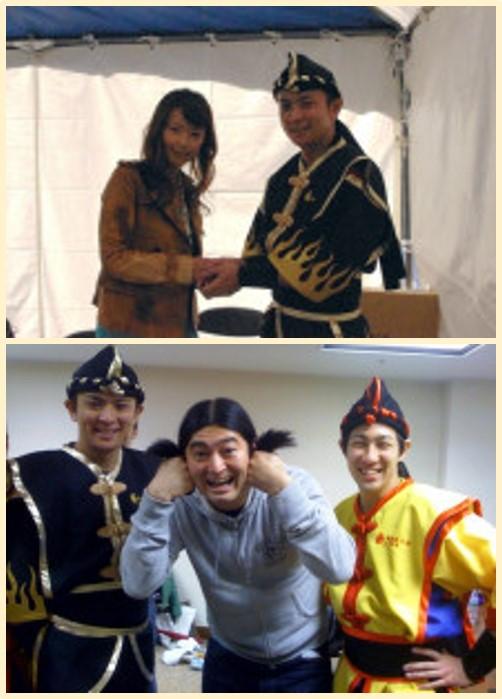 田中律子さんとQ 太郎さん