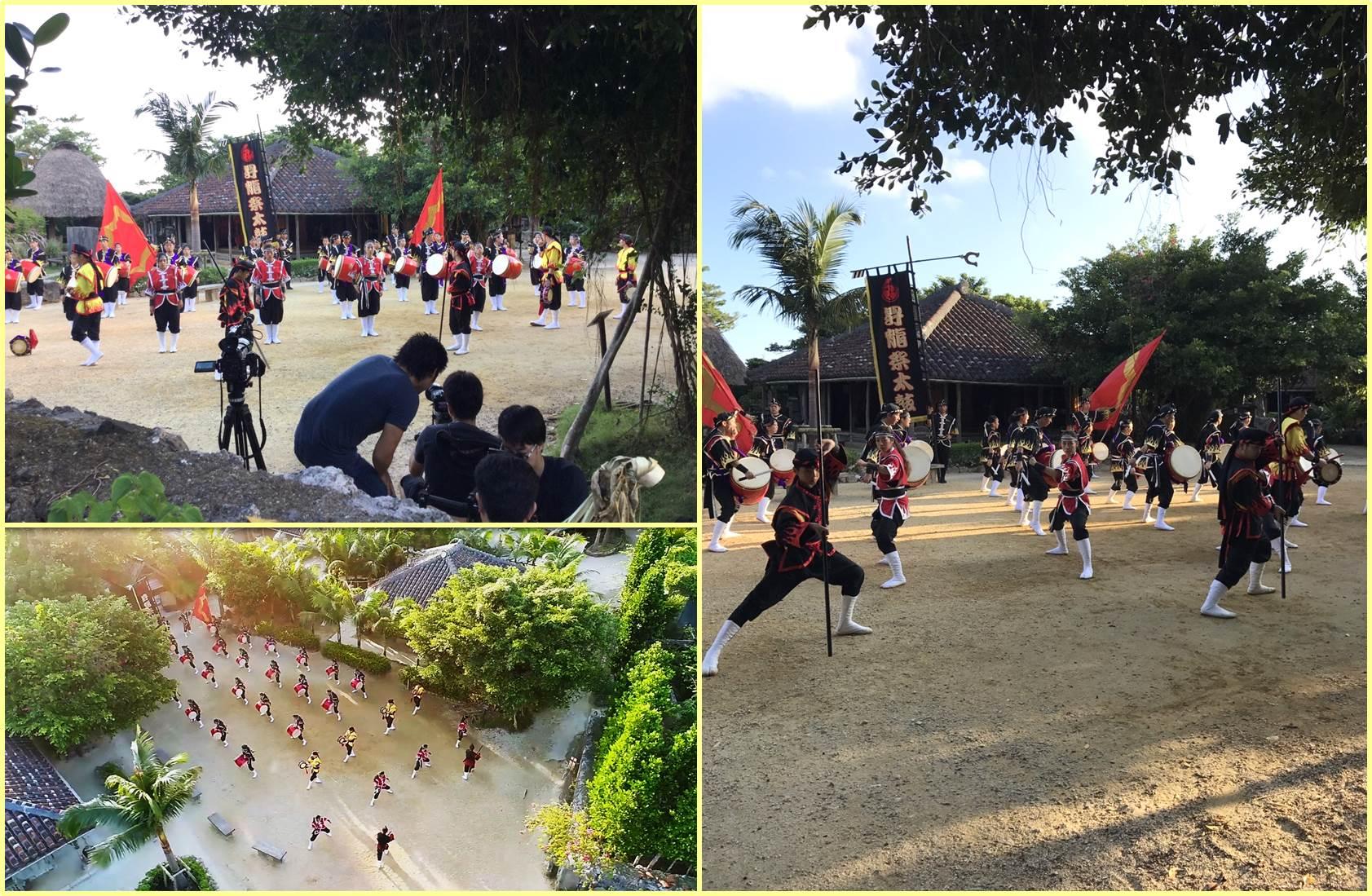 琉球村撮影