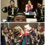 韓国の舞踊の方と