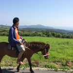 のんびり乗馬
