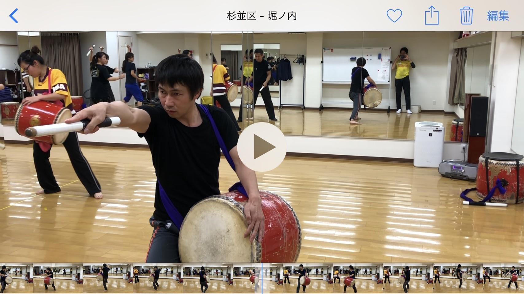 小島先輩の演舞動画