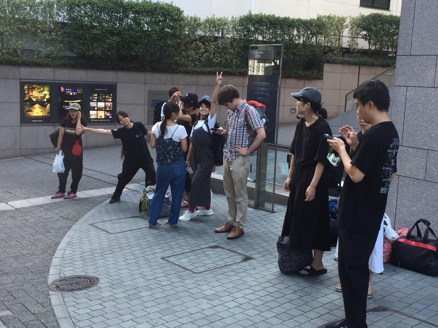 渋谷に集合