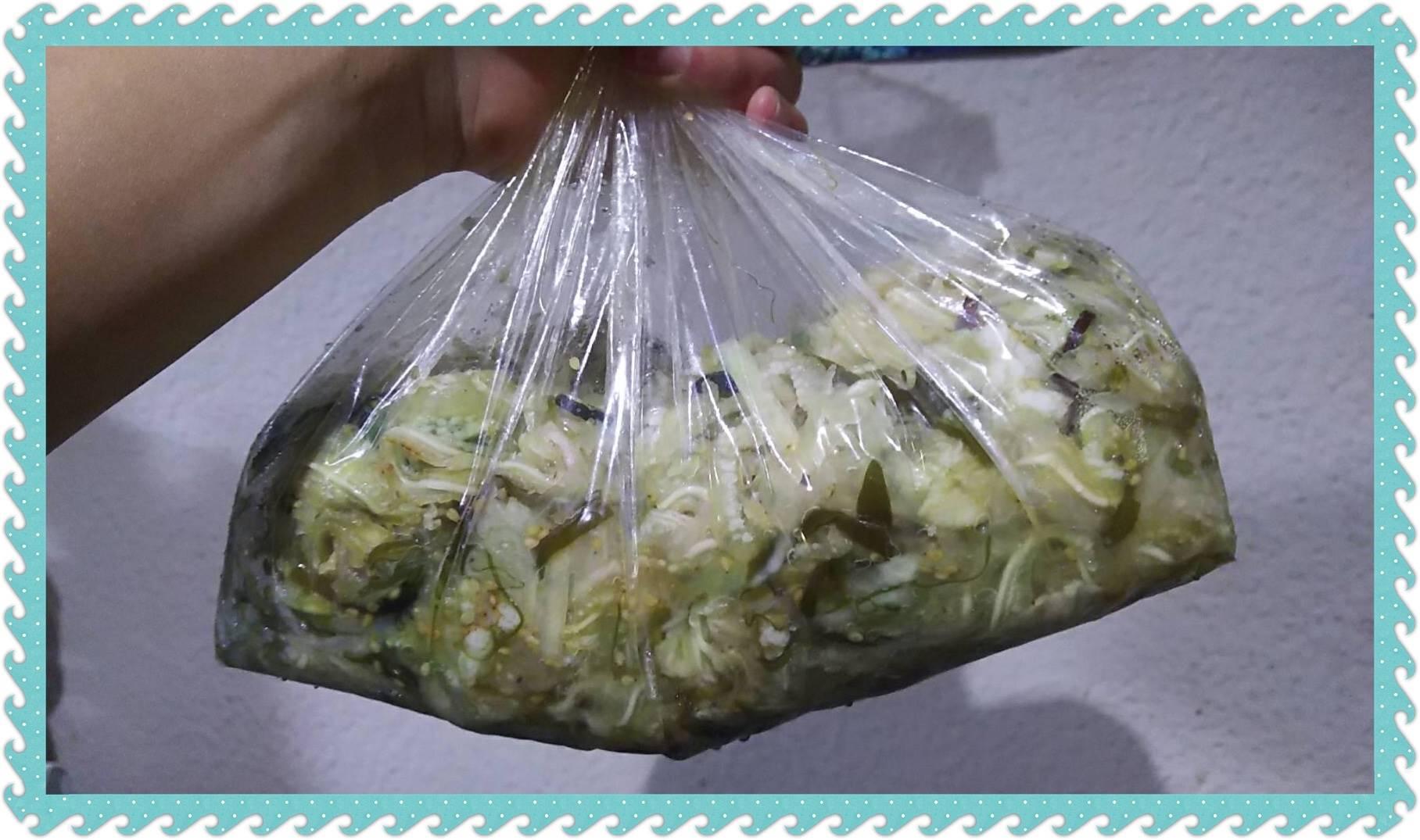 ミミガー中華風サラダ