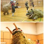 獅子舞も大活躍