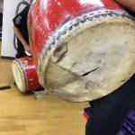 練習用大太鼓