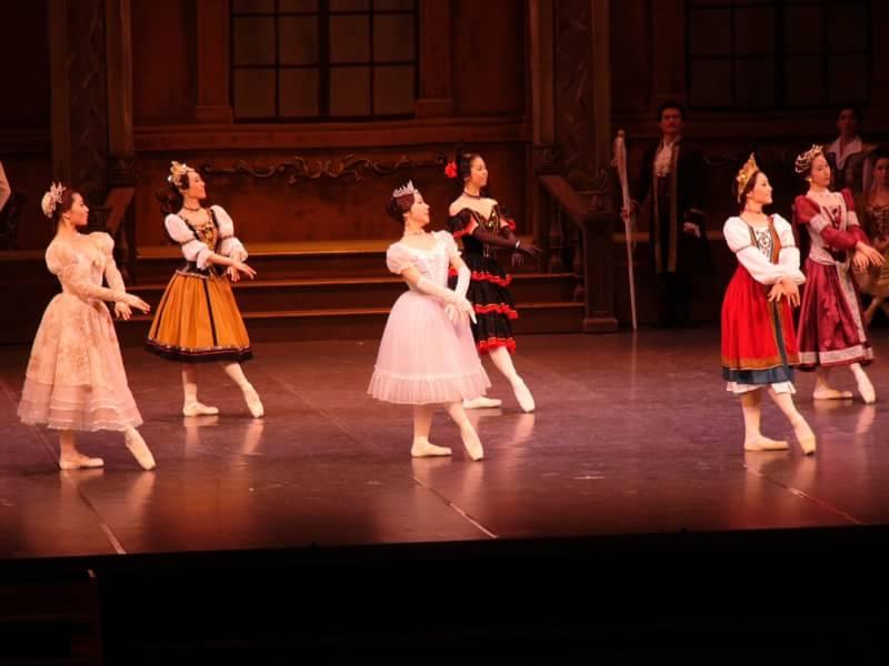 バレエの舞台